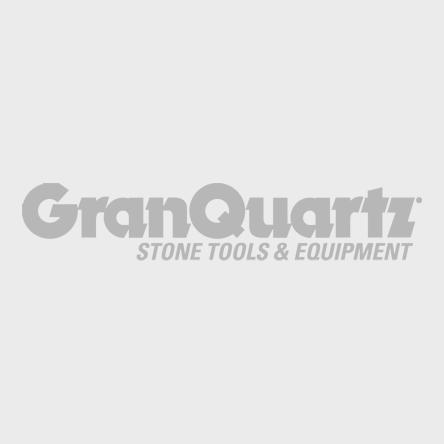 "7"" Surface Pro 12-Segment Swirl Cup Wheel, 7/8"" Arbor"