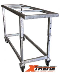 XTREME FABRICATION TABLE GALVANIZED ADJ. HEIGHT