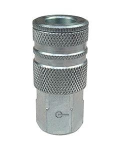 """COILHOSE 3/8"""" FPT COUPLER  3/8"""" BODY SIZE"""