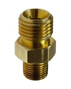 """COILHOSE MALE ADAPTER 3/8"""" MALE NPS X 1/4"""" MPT"""