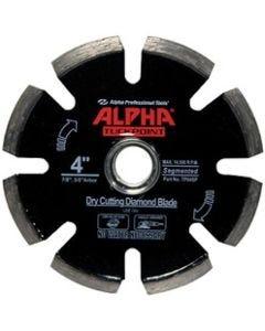 "ALPHA TUCK POINT BLADE, 4"", 7/8""-5/8"""