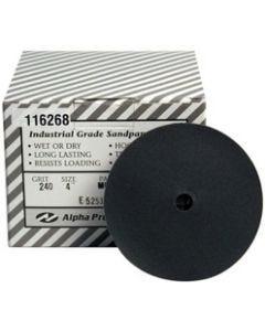 "5"" Aplha QRS Silicon Carbide Sanding Discs"