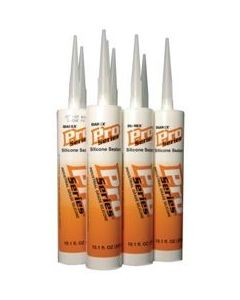 PRO SERIES SILICONE CAULK 100%, TRANS GRAY 10.3OZ