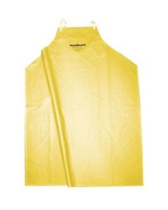 YELLOW PVC APRON WITH GRANQUARTZ LOGO