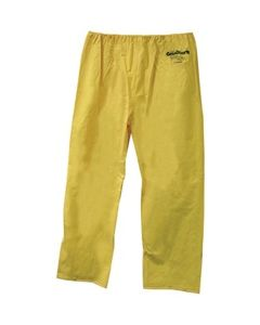 WATERPROOF PANTS. 2XL YELLOW, WITH GRANQUARTZ LOGO