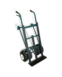 Dual Tire Hand Truck with Brake  *ships truck*