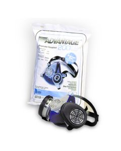 MSA Advantage 200 Medium Respirator w/Split Neck Strap