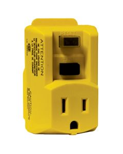 BRWK-82762 GFCI SINGLE OUTLET 120V/15AMP