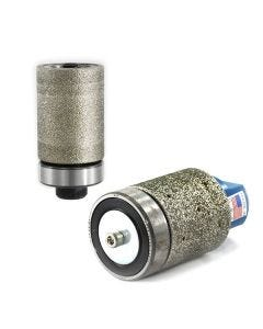 Electroplated Drum Wheels with Bottom Bearings - Ghines