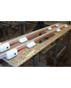 STONE PRO SR2 VACUUM 7FT SUPPORT RAIL (ONE RAIL) SP135