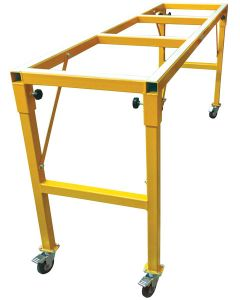 "DIAREX SUPER-DUTY FABRICATION TABLE 96""L X 25""W X 43""H"