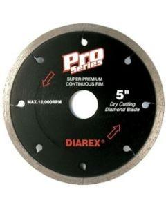 """DIAREX PRO SERIES CONTINUOUS RIM BLADE, 4"""", 7/8""""-20MM-5/8"""""""