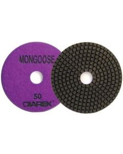 "5"" Diarex Mongoose Resin Bonded Granite Polishing Discs"