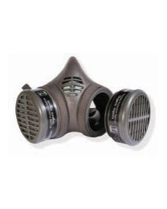 MOLDEX 8102 RESPIRATOR AND CARTRIDGE COMPLETE, MEDIUM