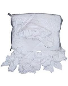 KS25BR 1 PK RAGS (25LBS) OF WHITE KNIT CLOTH