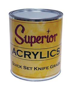 Superior Acrylic Quick Set Knife Grade Adhesive