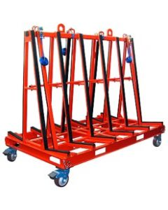 "Abaco OSA7247 One-Stop A-Frame 71"" x 43"" x 62"" 2200Lbs. Capacity"