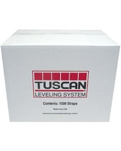 TUSCAN LEVELING STRAPS BOX OF 1000