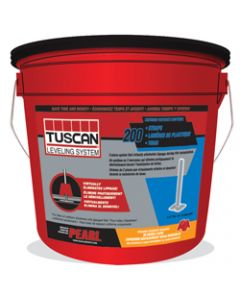 TUSCAN LEVELING STRAPS BUCKET OF 200