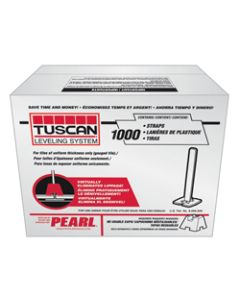 TUSCAN LEVELING WING STRAP BOX OF 1000