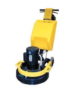 "CIMEX 19"" 110 VOLT 3 HEAD DIAMOND FINISHER W/35LB WT"