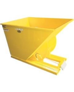 Diarex D-100-HD Self-Dumping Hopper, 1 Cubic Yard, 6,000 lbs. Capacity