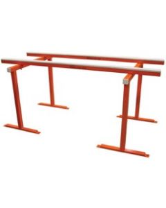 "AARDWOLF 36"" WORK BENCH, 40"" X 80"" TRESTLE 1.5 TON CAPACITY"