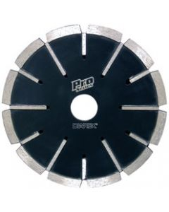 "PRO SERIES 6"" CNC BLADE W/SIDE PROTECTION, 1"" ARBOR"