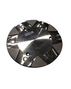 """9-1/2"""" Lavina Quick Change Metal Plate for Scanmaskin"""
