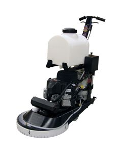 "21"" REJUVE SINGLE HEAD 18HP POLISHER W/CLUTCH, EMISSIONS"