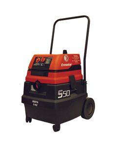 Ermator S50 Wet/Dry HEPA Vacuum, 120v, 1.7hp, 129cfm