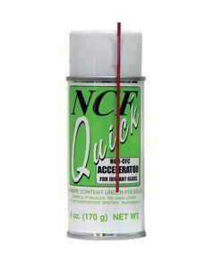 NCF QUICK ACCELERATOR AEROSOL 6 OZ.