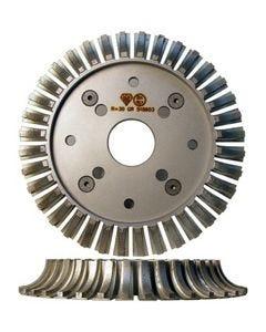ADI INLINE PROFILE WHEEL HALF BULL 250MM DIA R30 50 4+4
