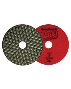 "4"" Pro Series 3-Step Dry Polishing Pads"