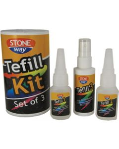 TENAX TEFILL CHIP REPAIR KIT LIQUID, GEL, ACTIV., 2OZ EA