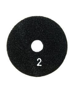 "SURFACE PRO GOLD 3"" ERASER  HYBRID PAD # 2 BLACK"