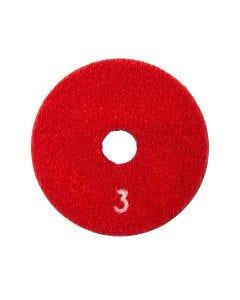 "SURFACE PRO GOLD 3"" ERASER  HYBRID PAD # 3 RED"