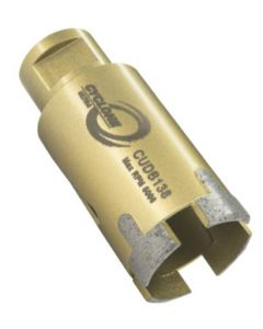 "CYCLONE ULTRA PORCELAIN CORE BIT 1 1/2"" -5/8-11"