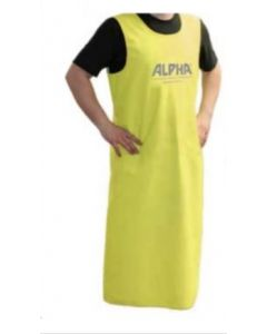 "ALPHA  APRON ONE SIZE FITS MOST 48"" X 41"" APRON2000"