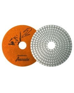 Assassin White Resin Polishing Pads