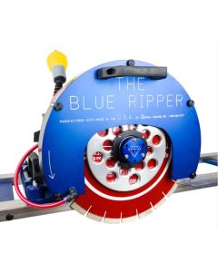 "Blue Ripper Sr. With Rails, 14"" Capacity, 5Hp, 230V, 22Amp"