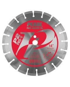 """PEARL PRO-V SEGMENTED BLADE 12"""" X .125 X 20MM"""