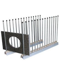 """GROVES REMNANT RACK 60"""" USS-5 UNIVERSAL STORAGE SYSTEM"""