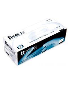 BioSkin Powder-Free Blue Latex Gloves, Large, 50/Box