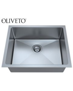 Oliveto Ss, 18 Ga Sink R22 Radius, Single Bowl