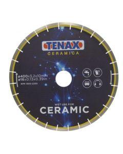 """TENAX CERAMIC TILE BLADE 16"""" 60/50 ARBOR"""